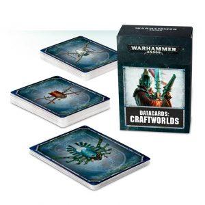 Games Workshop Warhammer 40,000  Craftworlds Eldar Datacards: Craftworlds - 60220104003 - 5011921093014