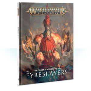 Games Workshop Age of Sigmar  Fyreslayers Battletome: Fyreslayers - 60030205011 - 9781788263665