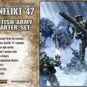 Warlord Games Konflikt '47  British (K47) British K47 Starter Set - 451510601 - 5060393704737