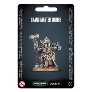 Games Workshop Warhammer 40,000  Grey Knights Grey Knights Grand Master Voldus - 99070107001 - 5011921088591