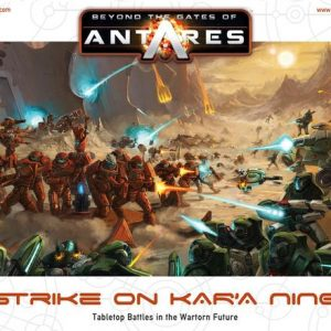 Warlord Games Beyond the Gates of Antares  Antares Essentials Beyond the Gates of Antares: Strike on Kar'a Nine - 501010001 - 5060393705529