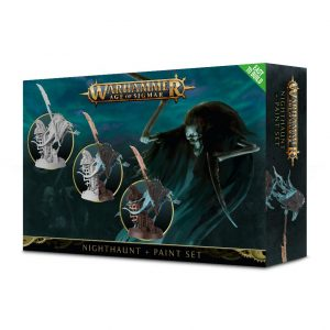Games Workshop Age of Sigmar  Nighthaunts Nighthaunt Paint Set - 99170207001 - 5011921102631