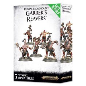 Games Workshop (Direct) Age of Sigmar  Age of Sigmar Direct Orders Khorne Bloodbound Garrek's Reavers - 99120201068 - 5011921085781