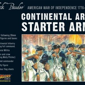Warlord Games Black Powder  American War of Independence Continental Army starter set - WGR-ARMY2 - 5060393702467