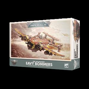 Games Workshop Aeronautica Imperialis  Aeronautica Imperialis Aeronautica Imperialis: Ork Air Waaagh! Eavy Bommers - 99121803003 - 5011921128914