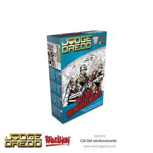 Warlord Games Judge Dredd  Judge Dredd Judge Dredd: Citi-Def Reinforcements - 652210210 - 5060572505421