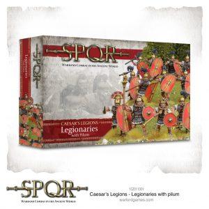 Warlord Games SPQR  SPQR SPQR: Caesar's Legions Legionaries with Pilum - 152011001 -