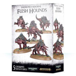 Games Workshop Warhammer 40,000 | Age of Sigmar  Blades of Khorne Daemons of Khorne Flesh Hounds - 99129915050 - 5011921113170
