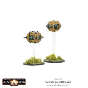 Warlord Games Beyond the Gates of Antares  Boromite Guilds Boromite Vorpal Charges - 503012008 - 5060393705925