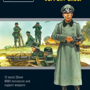 Warlord Games Bolt Action  Germany (BA) Blitzkrieg German Support Group - 402212007 - 5060572503328