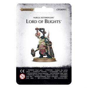 Games Workshop Age of Sigmar  Maggotkin of Nurgle Nurgle Rotbringers Lord of Blights - 99070201024 - 5011921092529