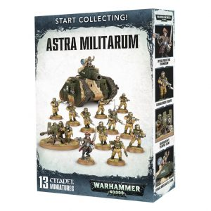 Games Workshop Warhammer 40,000  Astra Militarum Start Collecting! Astra Militarum - 99120105068 - 5011921088409