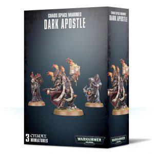 Games Workshop Warhammer 40,000  Chaos Space Marines Chaos Space Marines Dark Apostle - 99120102099 - 5011921114481