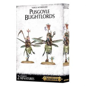 Games Workshop (Direct) Age of Sigmar  Maggotkin of Nurgle Nurgle Rotbringers Pusgoyle Blightlords - 99120201073 - 5011921092536