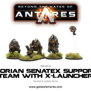 Warlord Games Beyond the Gates of Antares  Isorian Senatex Isorian Senatex Support Team (X-Launcher) - WGA-ISO-24 - 5060393700289