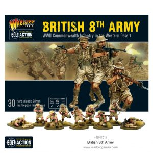Warlord Games Bolt Action  Great Britain (BA) 8th Army Infantry - 402011015 - 5060572501065