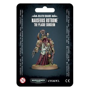 Games Workshop Warhammer 40,000  Death Guard Death Guard Nauseous Rotbone - 99070102019 - 5011921153619
