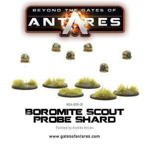Warlord Games Beyond the Gates of Antares  Boromite Guilds Boromite Scout Probe Shard - WGA-BOR-36 - 5060393703679
