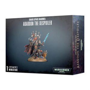 Games Workshop Warhammer 40,000  Chaos Space Marines Abaddon the Despoiler - 99120102101 - 5011921116744
