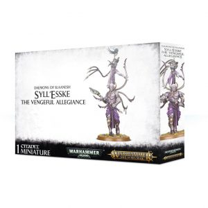 Games Workshop Warhammer 40,000 | Age of Sigmar  Chaos Daemons Syll'Esske, The Vengeful Allegiance - 99129915055 - 5011921114603
