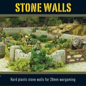 Warlord Games   Warlord Games Terrain Stone Walls - WG-TER-38 - 5060393700050