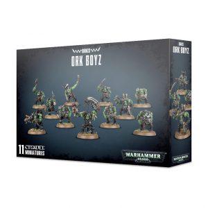 Games Workshop Warhammer 40,000  Orks Ork Boyz - 99120103052 - 5011921096138