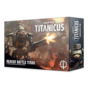 Games Workshop (Direct) Adeptus Titanicus  40k Direct Orders Adeptus Titanicus: Reaver Battle Titan - 99120399005 - 5011921111589