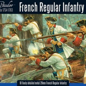 Warlord Games Black Powder  American War of Independence French Regular Infantry - WG7-FIW-03 - 5060200844526