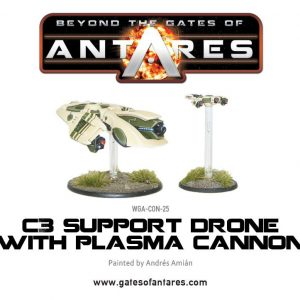 Warlord Games Beyond the Gates of Antares  PanHuman Concord Concord C3 Plasma Drone with Plasma Cannon - WGA-CON-25 - 5060393700241