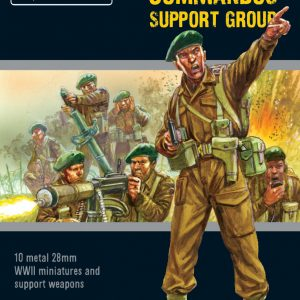 Warlord Games Bolt Action  Great Britain (BA) British Commandos Support Group - 402211102 - 5060572503069