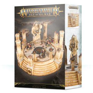 Games Workshop   Age of Sigmar Terrain Dominion of Sigmar: Sigmarite Dais - 99120299054 - 5011921118465