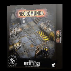 Games Workshop Necromunda  Necromunda Necromunda: Zone Mortalis Floor Tiles Set - 99120599017 - 5011921132126
