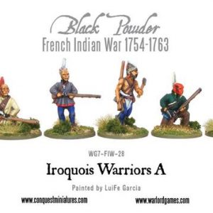 Warlord Games Black Powder  American War of Independence Iroquois Warriors - WG7-FIW-59 -