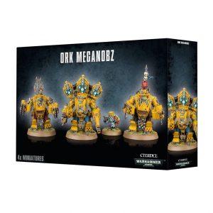 Games Workshop Warhammer 40,000  Orks Meganobz / Big Mek in Mega Armour - 99120103035 - 5011921050802