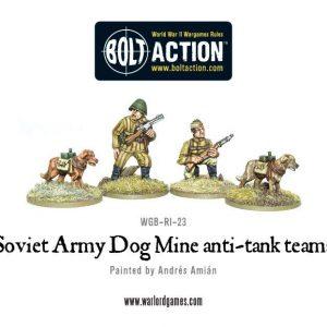 Warlord Games Bolt Action  Soviet Union (BA) Soviet Dog Mine anti-tank teams - WGB-RI-38 - 5060200847220