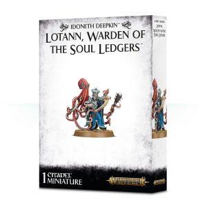 Games Workshop (Direct) Age of Sigmar  Idoneth Deepkin Lotann, Warden of the Soul Ledgers - 99120219006 - 5011921097500