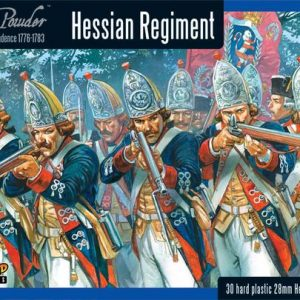 Warlord Games Black Powder  American War of Independence Hessian regiment - WGR-AWI-03 - 5060393702566