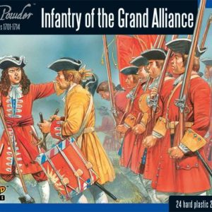 Warlord Games Black Powder  Marlborough's Wars Marlborough's Wars: Infantry of the Grand Alliance - 302015002 - 5060393704638