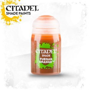 Games Workshop   Citadel Shade Shade: Fuegan Orange (24ml) - 99189953023 - 5011921068821