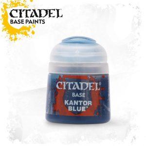 Games Workshop   Citadel Base Base: Kantor Blue - 99189950007 - 5011921026340
