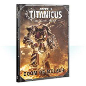Games Workshop (Direct) Adeptus Titanicus  Adeptus Titanicus Adeptus Titanicus: Doom of Molech - 60040399009 - 9781788264730