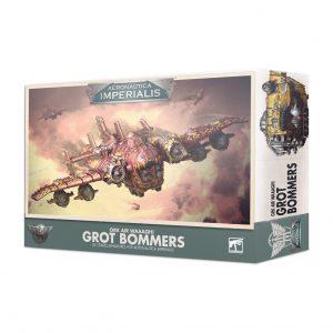 Games Workshop Aeronautica Imperialis  Aeronautica Imperialis Aeronautica Imperialis: Ork Air Waaagh! Grot Bommers - 99121803004 - 5011921129119