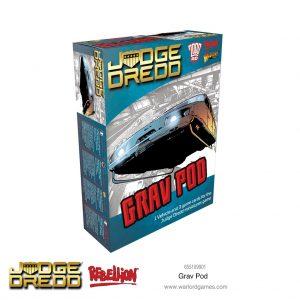 Warlord Games Judge Dredd  Judge Dredd Judge Dredd: Grav Pod - 655109901 - 5060572505254