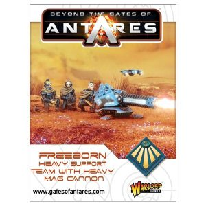 Warlord Games Beyond the Gates of Antares  Freeborn Freeborn Heavy Mag Cannon - 502414006 - 5060393708193