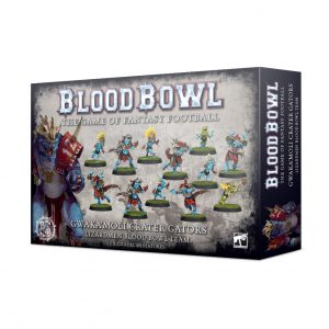 Games Workshop Blood Bowl  Blood Bowl Blood Bowl: Gwaka'moli Crater Gators - 99120908001 - 5011921126156