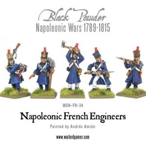 Warlord Games Black Powder  French (Napoleonic) French Engineers - WGN-FR-34 - 5060393701989