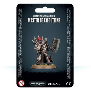 Games Workshop Warhammer 40,000  Chaos Space Marines Chaos Space Marines Master of Executions - 99070102013 - 5011921113293