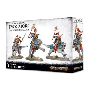 Games Workshop Age of Sigmar  Stormcast Eternals Stormcast Eternals Evocators on Celestial Dracolines - 99120218038 - 5011921104628