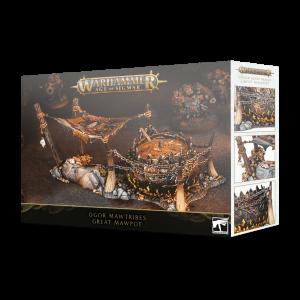 Games Workshop (Direct) Age of Sigmar  Ogor Mawtribes Ogor Mawtribes Great Mawpot - 99120213021 - 5011921126965
