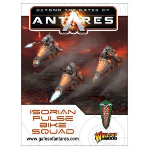 Warlord Games Beyond the Gates of Antares  Isorian Senatex Isorian Pulse Bike Squad - 502416002 - 5060393707639